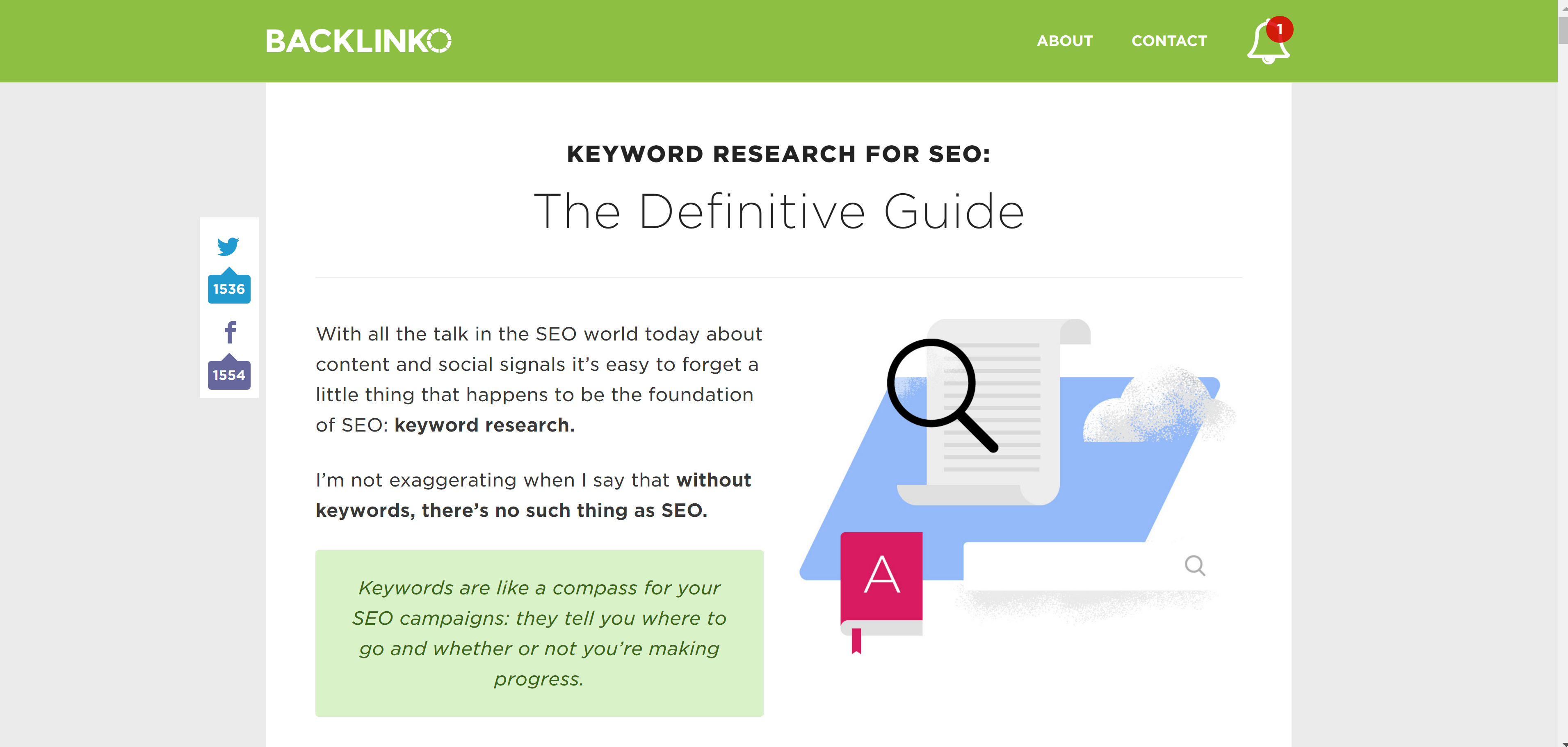 best seo blogs - backlinko