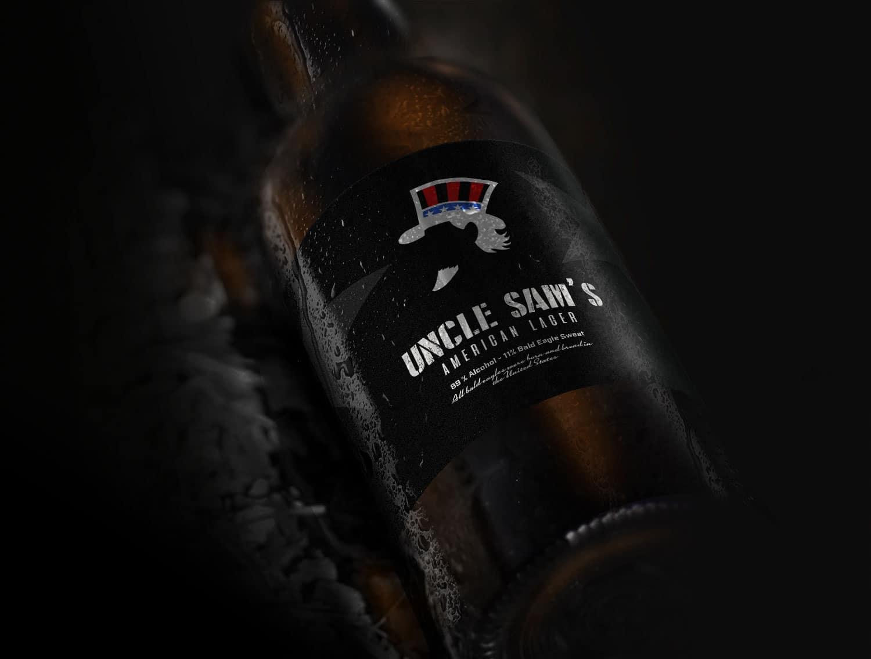 Uncle Sams Logo Design