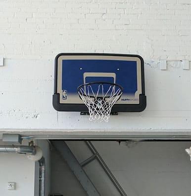 Basketball hoop creative office
