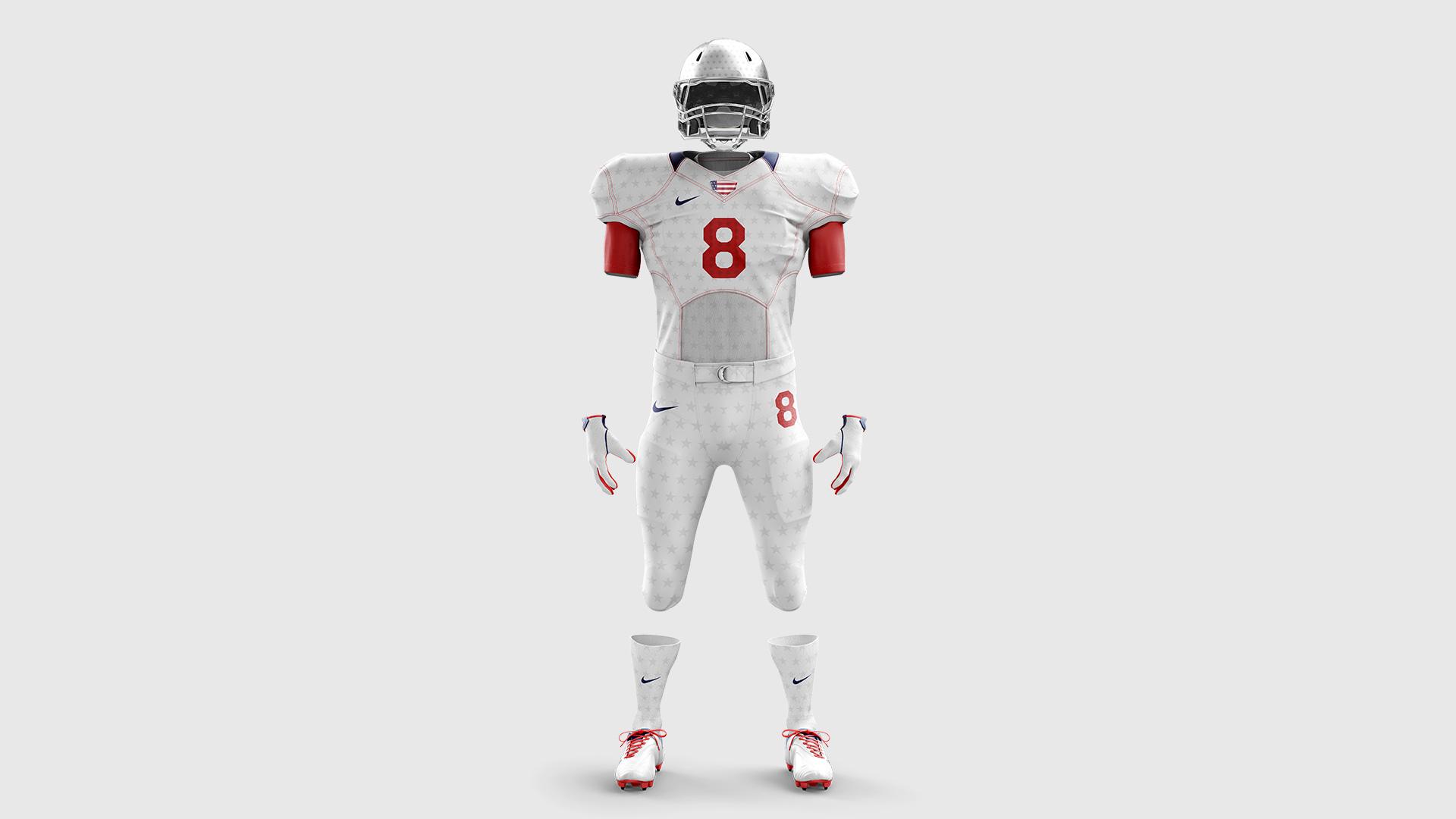 usa football jersey concept